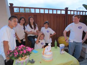 Photo: AAH young volunteers.