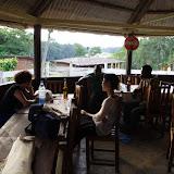 Dans le restaurant d'Ebogo (Cameroun). 9 avril 2012. Photo : J.-M. Gayman