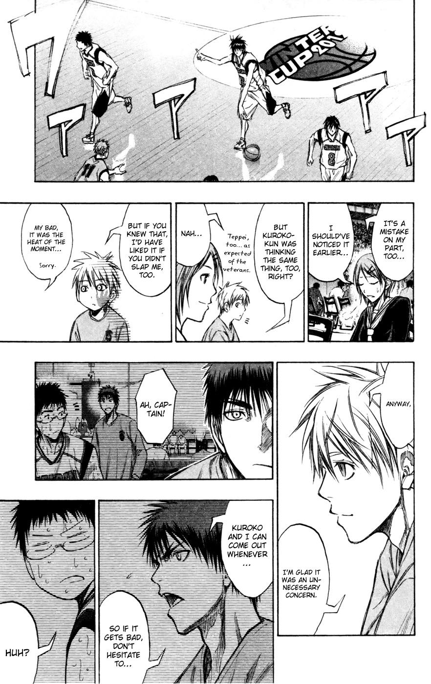 Kuroko no Basket Manga Chapter 143 - Image 13