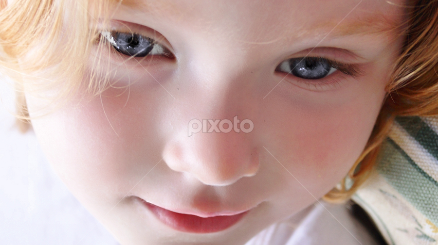 Can you see me? by Cheryl Korotky - Babies & Children Child Portraits ( face, photography, closeup, close, up,  )