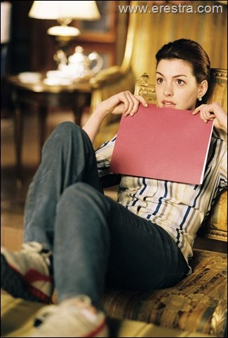 Pictured:  Anne Hathaway stars as Mia in Princess Diaries 2, Royal Engagement.<br />