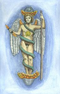 Image Of Phanes Emerging From The World Egg, Alchemical And Hermetic Emblems 1