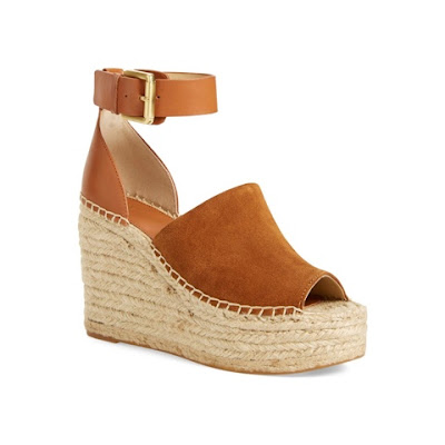 Marc Fisher Adalyn Platform Wedge Espadrille Sandal