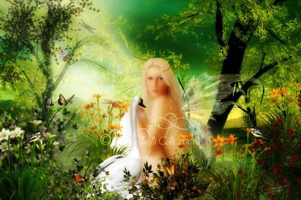 Pretty Faery Of Goodness, Fairies Girls 2