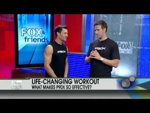 Tony Horton On Fox And Friends, Tony Horton