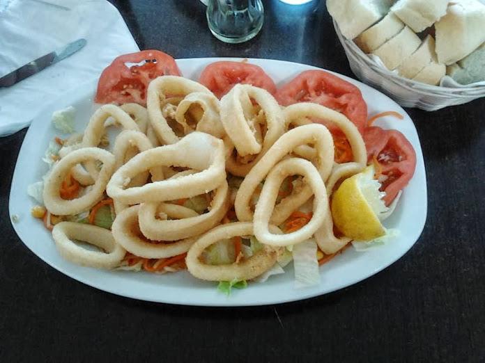 Calamares a la romana en Calamares rebozados a la romana luisfy.