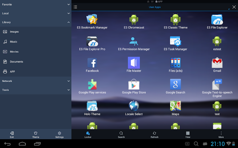 android ES File Explorer/Manager PRO Screenshot 7