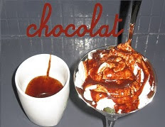 Le coulis de chocolat