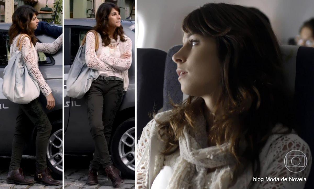 moda da novela Geração Brasil - look da Megan dia 25 de junho