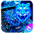 Neon Tiger King Keyboard Theme file APK Free for PC, smart TV Download
