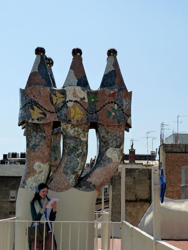 Les maisons de Gaudi P1350220