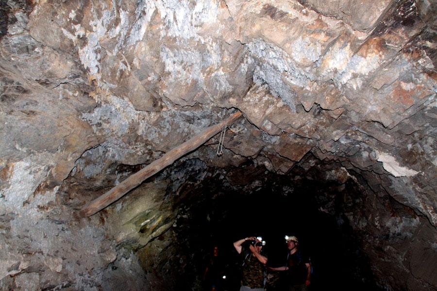MTI Minas Andalucía: Socavón Santa Bárbara (Túnel del Arteal)