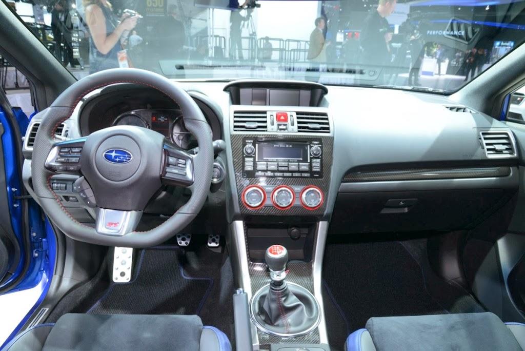 2015 Subaru WRX STI NAIAS 9