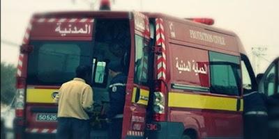 القيروان: وفاة طالب جامعي وإصابة 8 أشخاص في إنقلاب ''لواج''