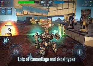 تحميل لعبة  Tanks VS Robots