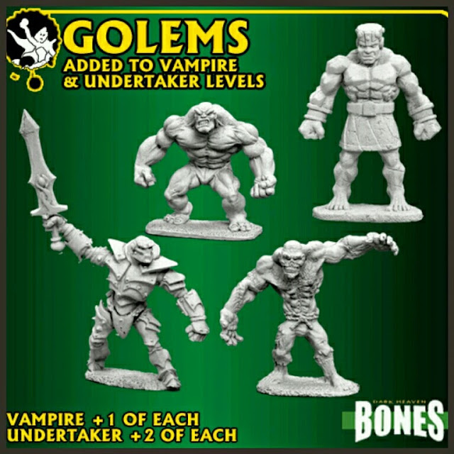 Reaper Miniatures golems
