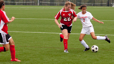 Cliffside Park # 22 Vittoria Sculco and Ridgefield Park # 2 Nicole Osorio.  and   Photos by TOM HART/  FREELANCE PHOTOGRAPHER.