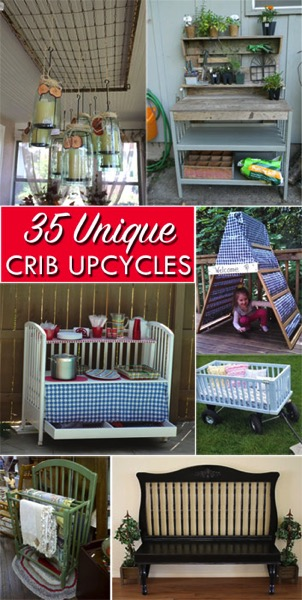 35 Unique Repurposing Ideas for Old Cribs