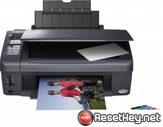 Epson DX7400 Waste Ink Counter Reset Key
