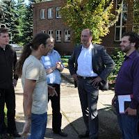 MdB Wolfgang Tiefensee besucht Jugendclub Engelsdorf
