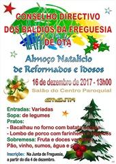 Almoço Natal - Reformados e Idosos - 2017