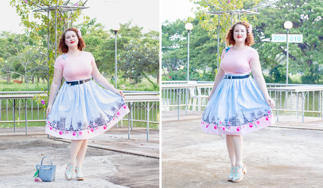Tropical vintage spring with Hell Bunny | Lavender & Twill