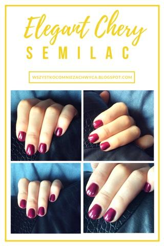 Semilac, 098 Elegant Cherry