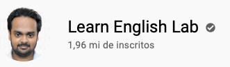 101 canais do YouTube para aprender inglês de graça Learn English Lab