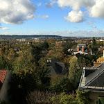 Collégiale Saint-Martin : vue vers Enghien