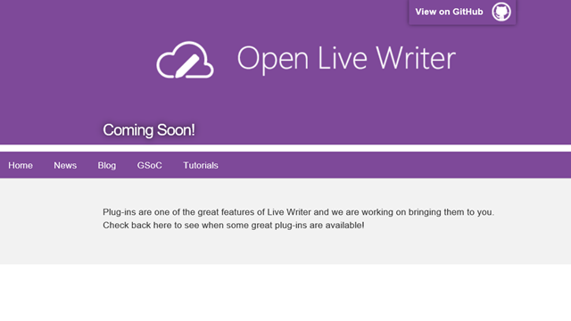 Open Live Writer - Plugins