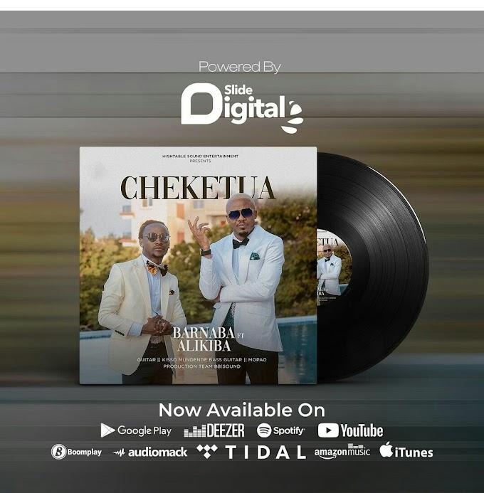 Audio: Barnaba ft. Alikiba - Cheketua | Download