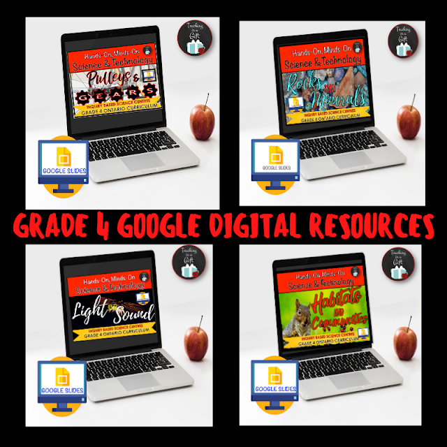 GRADE 4 ONTARIO SCIENCE DIGITAL RESOURCES