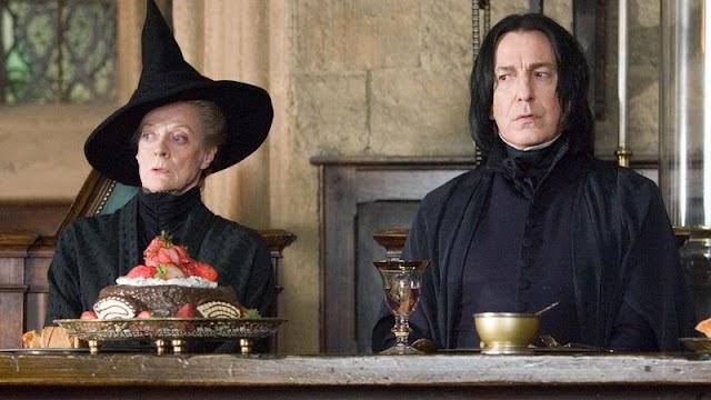 Snape ensina Poções porque J.K. Rowling odiava química, revela autora