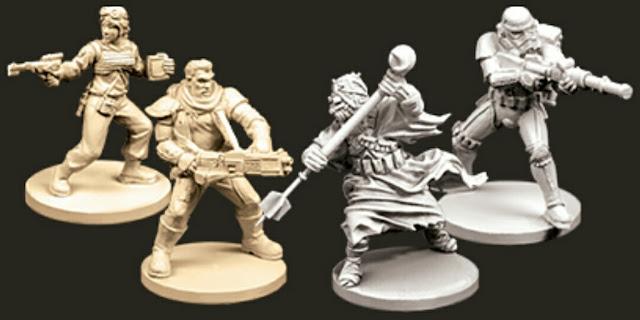 miniaturas de la Expansión Sombras Gemelas Imperial Assault y sus expansiones