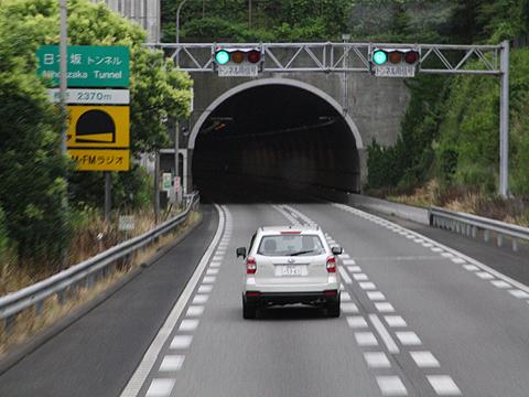 西日本鉄道「はかた号」 0002 まもなく日本坂トンネル