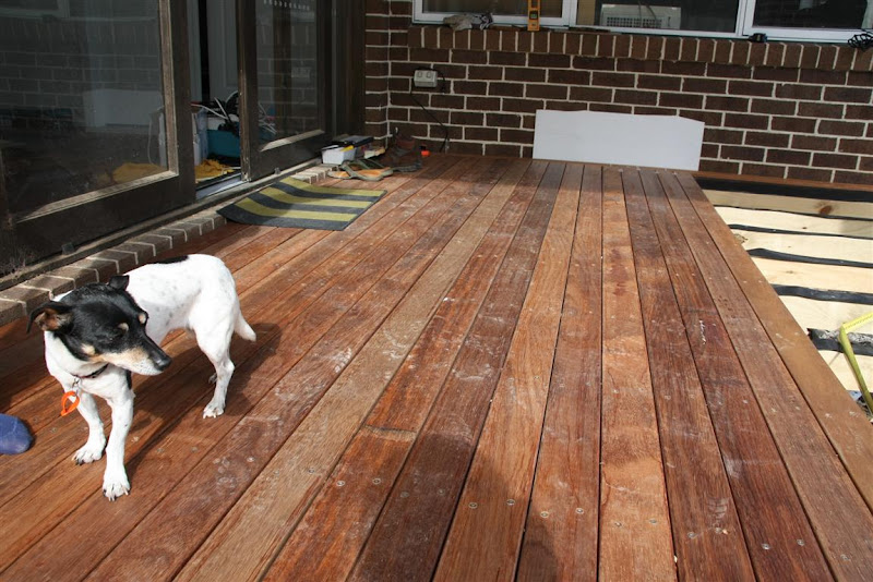 T&T: Building our deck - work in progress