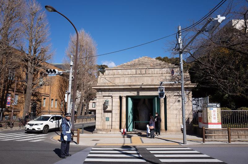 190127 旧博物館動物園駅外観