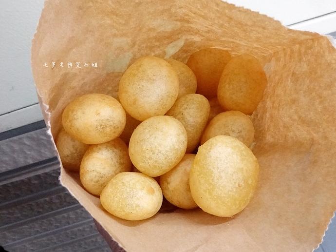 10 新莊公園建豐街 QQ蛋 芝麻球 新莊美食