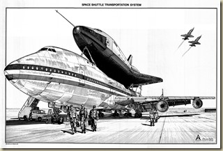 Space Shuttle Transportation System Artwork - Jean-Luc Bighin30