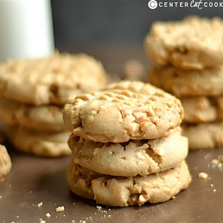 Soft and Chewy Classic Peanut Butter Cookies.