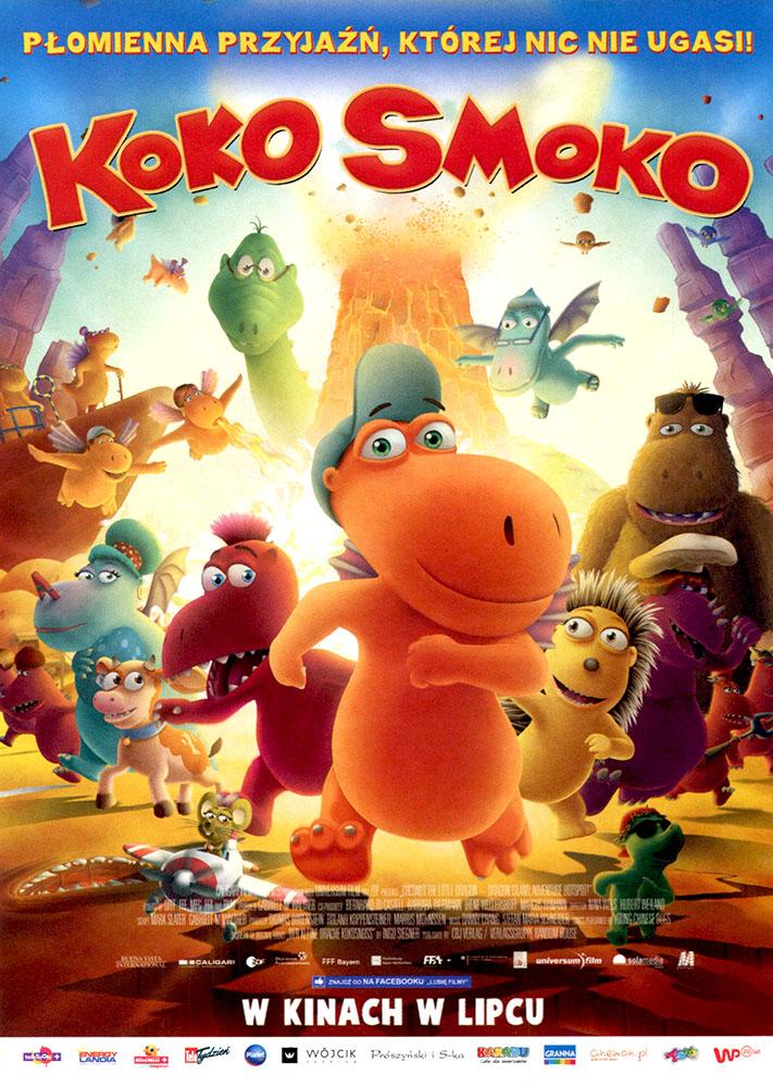 Ulotka filmu 'Koko Smoko (przód)'