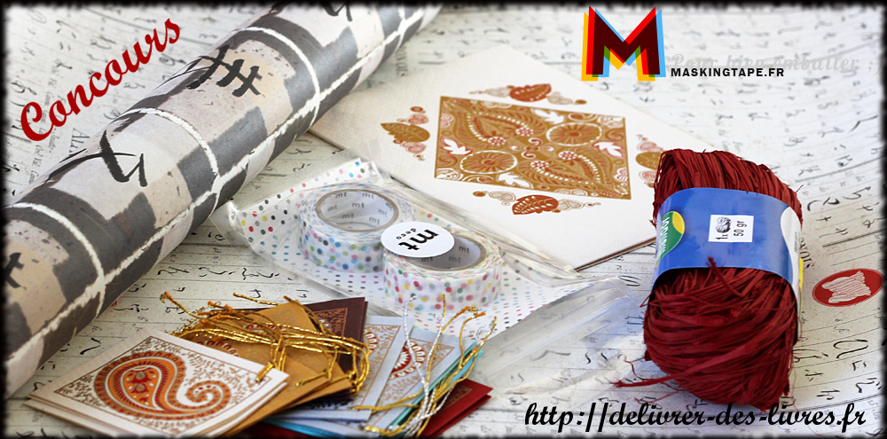 Concours Masking Tape par Délivrer des livres