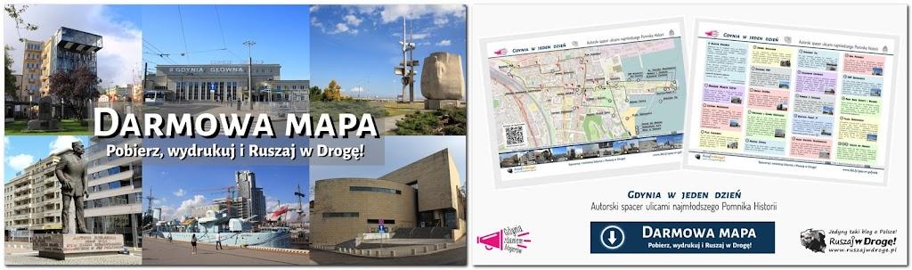 Opracowanie mapy i szlaku po Centrum Gdyni