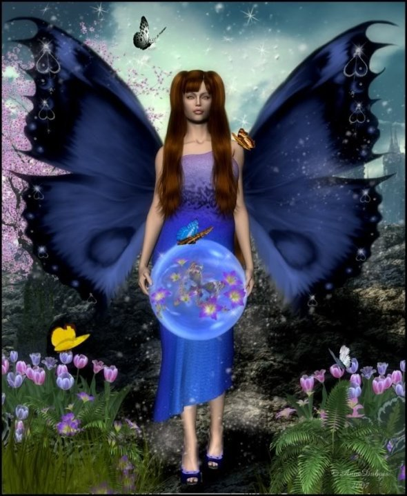 Nature Wicca, Fairies Girls