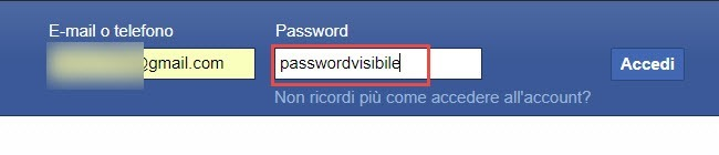 password-visibile