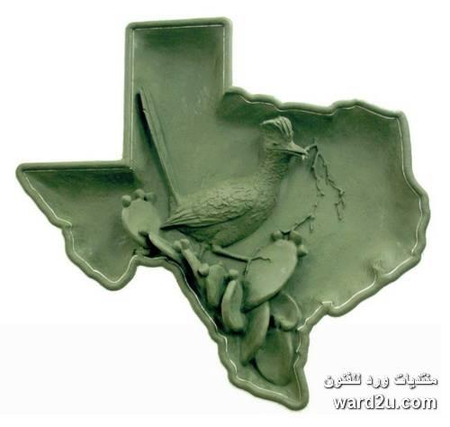 منحوتات من نهر ابداع نحات تكساس Garland Weeks