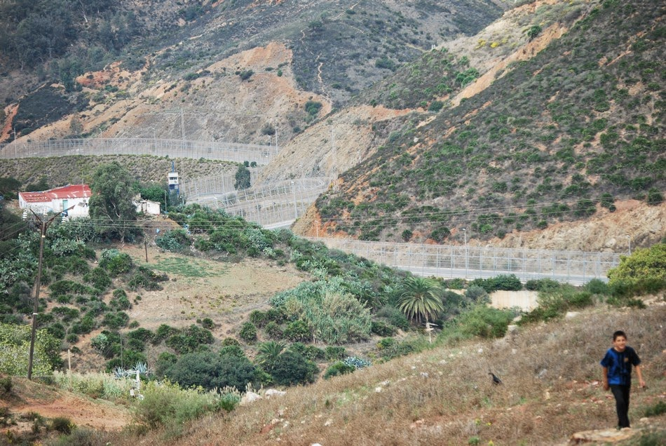 Caravana a la valla de Ceuta 18