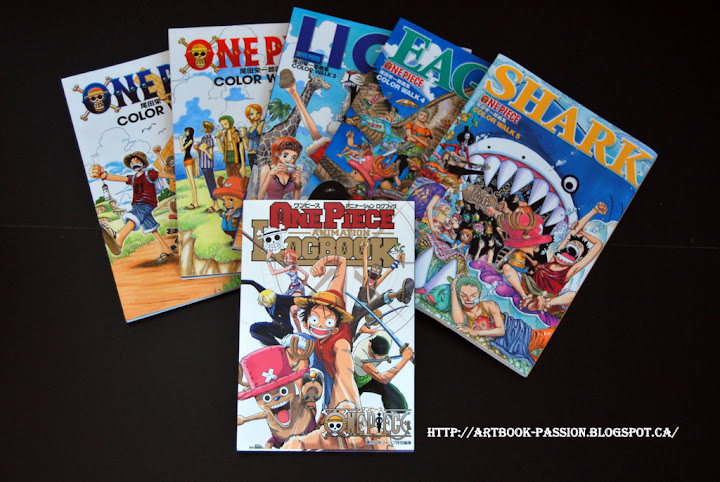 artbook one piece luffy nami zoro