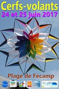 17ème rencontres convivuiales de cerf-volistes à Fécamp 2017