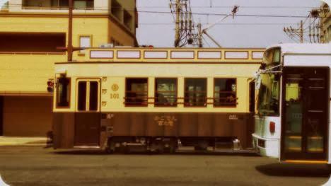 鹿児島市電 レトロ電車かごでん